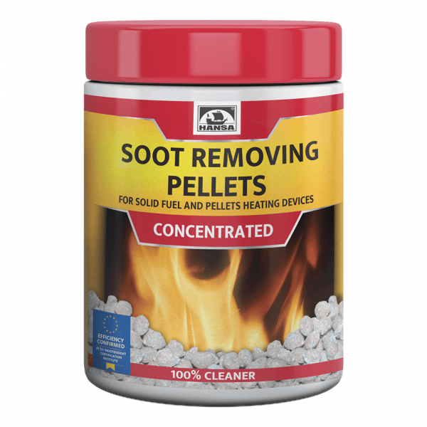 Puhastusgraanul pelletikaminale/pelletikatlale