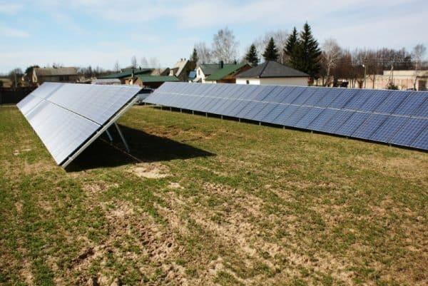 Päikeseelektri paneelide maakomplekt 11kw MIKROTOOTMINE