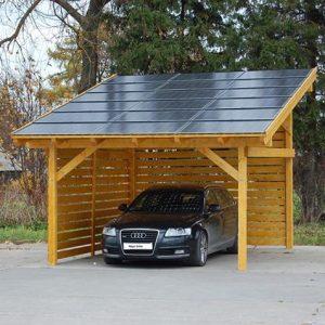 Päikeseelektri paneelide komplekt 4kw